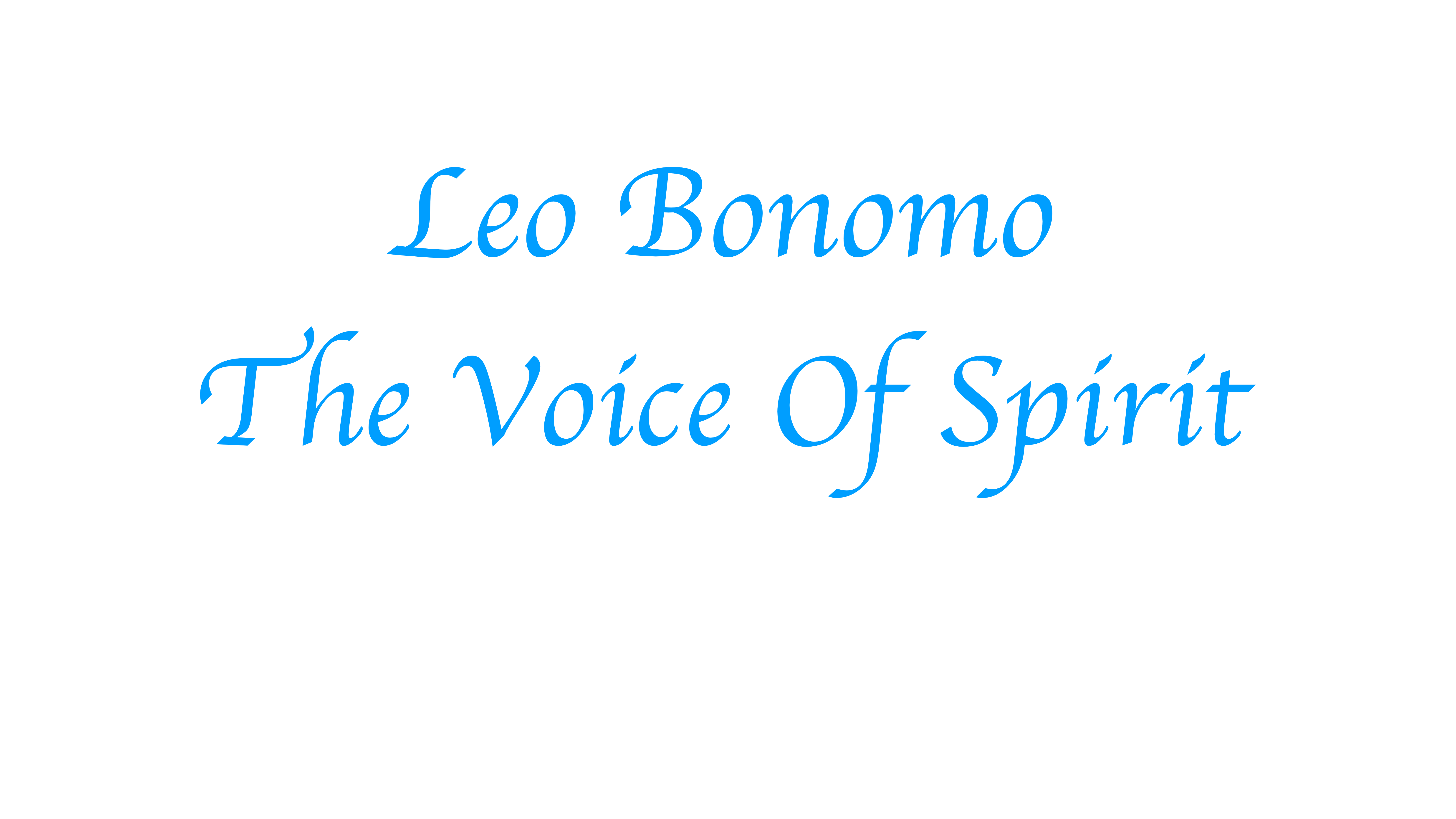 Psychic Medium Leo Bonomo